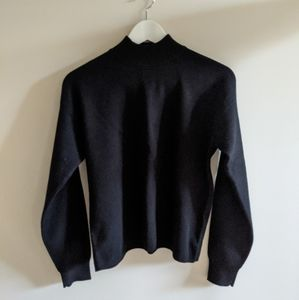 Frank And Oak Mock Neck Sweater